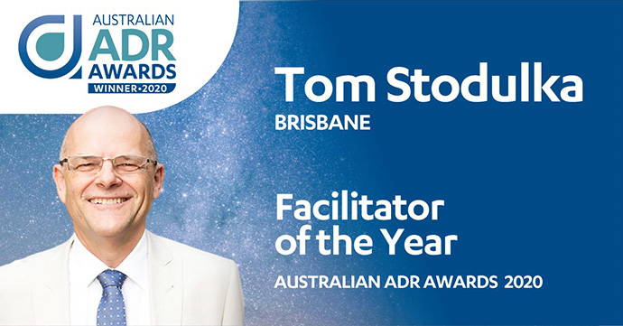 Facilitator of the Year Australian ADR Awards 2020